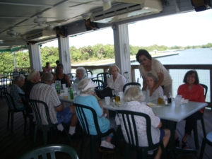 Bay Oaks Home resident guests out for lunch