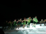 A snipet of the Ice show