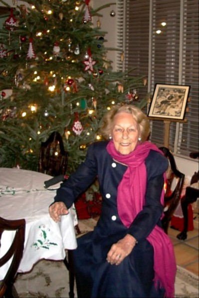 Kathryn Kassner by the Tree