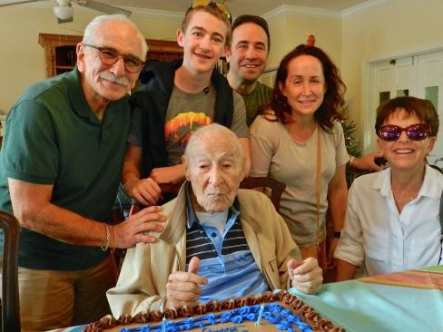 Mr Mann Family at 103rd Birthday